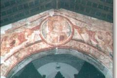 Chiesa Santa Maria delle Grazie interno arco bizantino